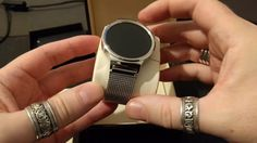 Huawei Watch stainless steel mesh version - unboxing