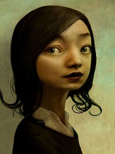 portrait by Benoit Godde.