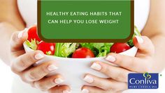 #Healthy #Eating Habits That Can Help You #Lose #Weight:  1. Guzzle A Cold Glass Of H2O 2. Sip A Cup Of #Tea 3. #Eat Every Three Hours 4. Increase Your #Omega-3 Intake 5. Eat Organic When You Can 6. #Exercise To Gain #Muscle Weight
