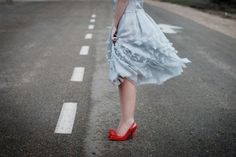 red shoes :)