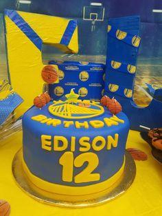 13 Birthday, Golden State, Warriors, Party, Desserts, Food, Tailgate Desserts, Deserts, 13th Birthday