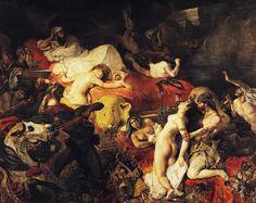 Eugène Delacroix, La morte di Sardanapalo, 1827, Musée du Louvre, Parigi
