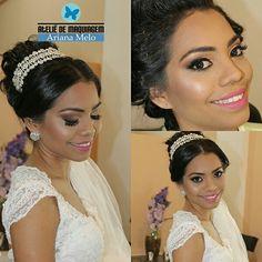 Noivas: maquiagem e penteado por Ateliê de Maquiagem Ariana Melo