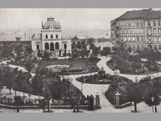Kavárna v městském parku na Poříčí - Proměny Park, Historia, Parks