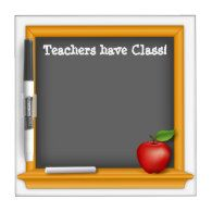 #BackToSchool Dry Erase Boards Designed by #Zazzle Artists!  #Teacher #student