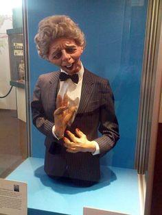 Spitting image puppet: Thatcher