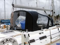 Moody 40 Cockpit Enclosure, ZAC - Boat Covers