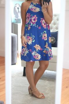 5467817a1a9a My September Stitch Fix... For Less Everly Floral Print Shift Dress Lucky  Brand
