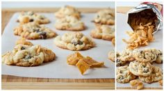 Frito Chocolate Chip Cookies, The Perfect Combination of Salt and Crunchiness!