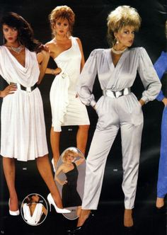 An extensive collection of fashion trends, complete with loads of photos, tons of information and truly outrageous costume ideas! 80s Fashion Party, 80s Party Outfits, 1980s Fashion Trends, 80s Trends, 80s And 90s Fashion, Retro Fashion, Vintage Fashion, Club Fashion, Fashion Hair
