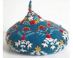 Handmade дизайнерские вещи и аксессуары by Shan Shan - шарфы, варежки и береты, украшенные вышивкой ручной работы
