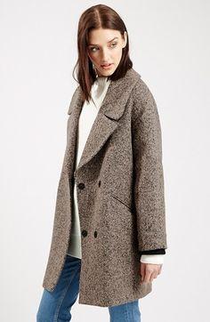 Topshop 'Amelia' Slouch Coat   Nordstrom £109.96