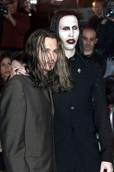 Johnny  Depp & Marilyn Manson