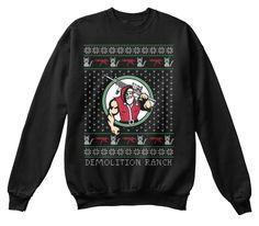 Demolition Ranch Black Sweatshirt Front
