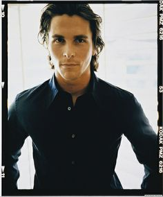 Christian Bale. OOOOOOOOOh i love this look he gets!