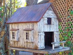 old birdhouse - Google Search