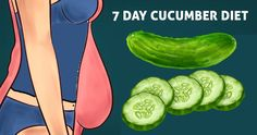 If you don't want to pay too much attention to what you are eating, try this easy cucumber diet. With it, you can get significant results in just a week or 10 days at most. All you need are a few spec