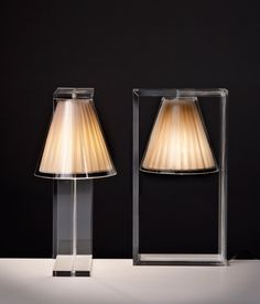 Light Air table lamps by Eugeni Quitllet for Kartell