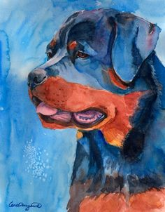 All the things we all admire about the Confident Rottweiler Dogs Trippy Drawings, Animal Drawings, Dog Toothpaste, Puppy Quotes, Rottweiler Breed, German Dog Breeds, Dog Paintings, Dog Art, Cute Animals