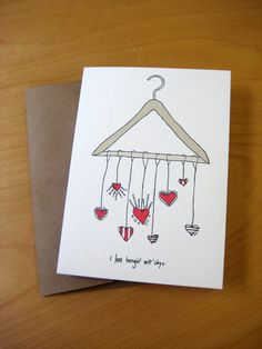 Hand Drawn Witty Card