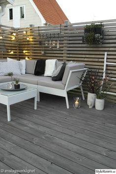 En härlig plats i vår trädgård - Altan & Växthus - Hemma hos Enslagsverklighet