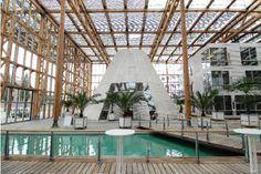 MONT-CENIS TRAINING CENTER Herne-Sodingen, Germany 1991-1999 Jourda & Perraudin Architectes, Jourda Architectes, Hegger Hegger Schleiff Planer + Architekten