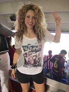 LAS CADERAS TABASCO: Shakira festejado triunfo del Barcelona en la Copa...