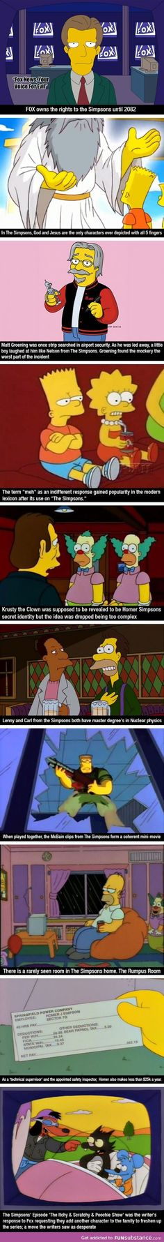 Interesting facts about The Simpsons