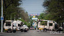 Агенция БГНЕС - Нови сблъсъци в Славянск, Яценюк в Брюксел на 13 май