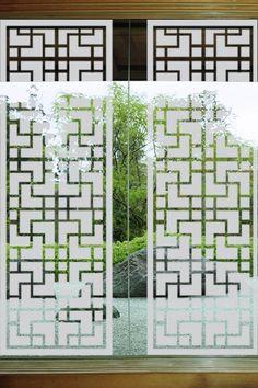 Japanese Window Glass Decals