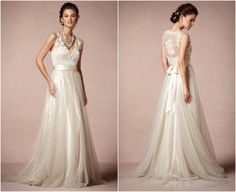 Romantic Wedding Dresses | rusticweddingchic.com