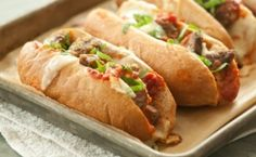 Baked Meatball Subs with Fresh Mozz Recipes | Whole Foods Market