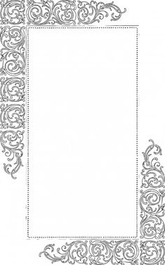 Free Vector Art – Fancy Vintage Borders, from Oh So Nifty Vintage Graphics Free Vector Graphics, Free Vector Art, Motif Vector, Vector Pattern, Vector Design, Design Design, Design Elements, Borders And Frames, Borders Free