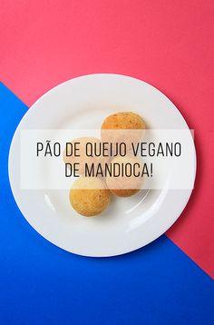 Receita de pão de queijo vegano de mandioca :-) // palavras-chave: receita, café da manhã, lanche, vegan, vegetariano, vegetarian, veggie, pão, pãozinho, queijo, mandioquinha, mandioca, batata, cozinha, comida, alimento, alimentação, saúde, saudável, gluten free, sem glúten.