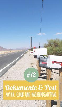 Weltreise planen Nr. 12 ➸ Dokumente & Post: Was mache ich mit der Post während der Weltreise? Und wie sichere ich alle wichtigen Dokumente auf Reisen?