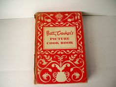 Vintage 1950s Betty Crocker's Picture Cook Book copyright 1950 by General Mills Inc by VintageFindsbySuzi on Etsy
