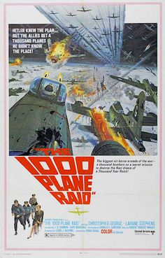 The Thousand Plane Raid An American serving at a Royal Air Force base in England, has a grand military dream: a risky plan to send a fleet of bombers to … Continue Reading → Two Movies, Movie Tv, Movie Theater, Bo Hopkins, Force Movie, Christopher George, War Film, Plane, Planes