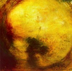 Light and Colour (Goethe's Theory) - The Morning after the Deluge by J.M.W. Turner, 1843.