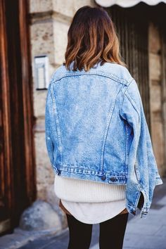 Denim is a must.