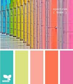 beach colour palette