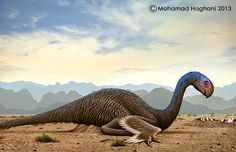 Gigantoraptor by haghani.deviantart.com on @deviantART