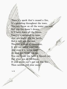 Hunger Games related poem by Erin Hanson.