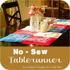 patriotic table runner