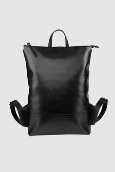 Ася Мальберштейн Городской рюкзак из перфорированной кожи