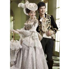 Men Women Colonial Victorian Era Famous Couples Dress Clothing Costumes SKU-307014