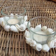 Sea Shell Candle Holders - tropical - candles and candle holders - brisbane - by Boho Beach