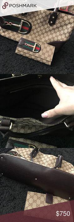 Gucci handbag and wallet Gucci handbag and wallet gorgeous chic handbag and wallet! Gucci Bags Shoulder Bags