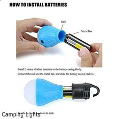 Camping Lights - impressive choice. Have to explore...