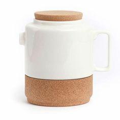 PAPER PLANE - Tea Pot - White- I so want one as it's soooo cute!