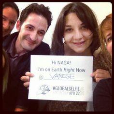 #globalselfieearthday